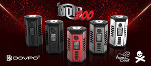 DOVPO X Vaperz Cloud Odin X Vaping Bogan 200W box mod
