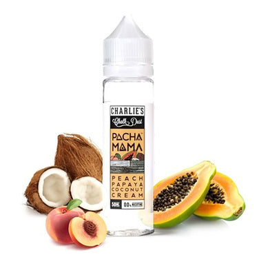 Pachamama Peach Papaya Coconut Cream by Charlie's Chalk Dust - Trebbih Vape