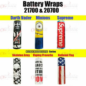 20700/21700 Battery wraps - Trebbih Vape