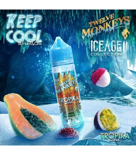 Tropika Iced By Twelve Monkeys - Trebbih Vape