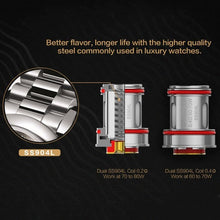 Load image into Gallery viewer, Uwell Crown IV Replacement Coils - Trebbih Vape