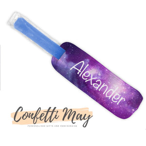 Personalised Icy Pole Holder - Galaxy