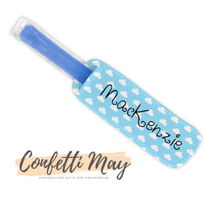 Personalised Icy Pole Holder - Clouds