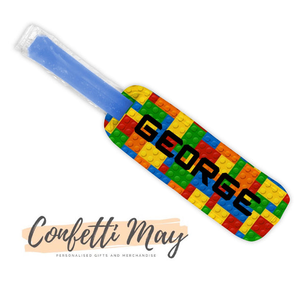 Personalised Icy Pole Holder - LEGO Block