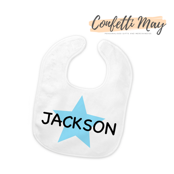 Personalised Bib - Little Star