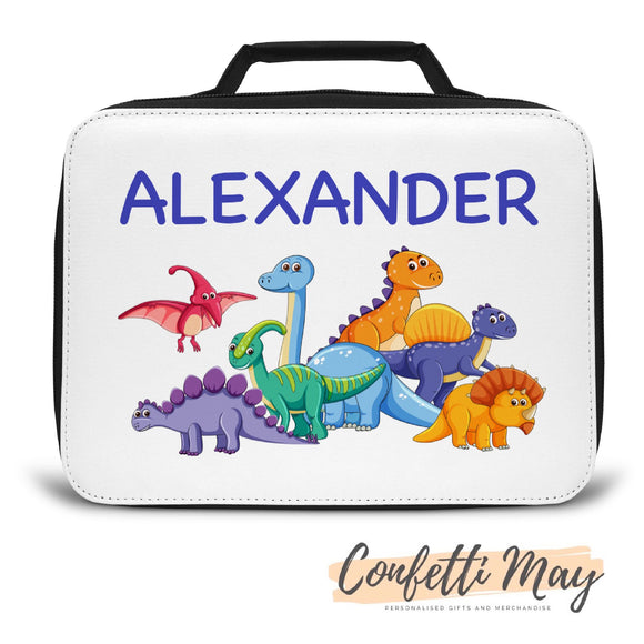 Personalised Lunch Box - Dinosaur