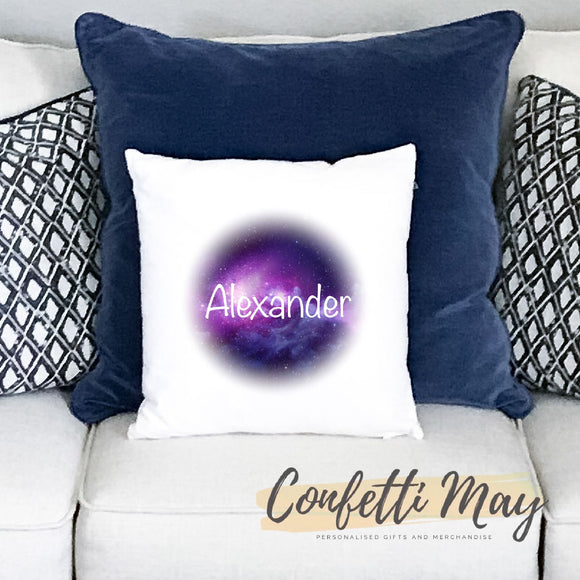 Personalised Cushion - Galaxy