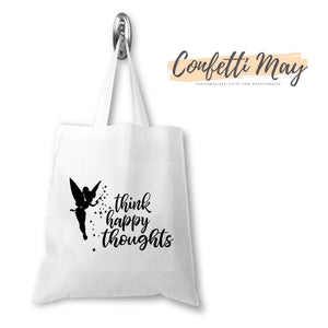 Happy Thoughts Library/Tote Bag