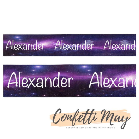 Personalised Galaxy Ribbon