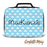Personalised Lunch Box - Clouds
