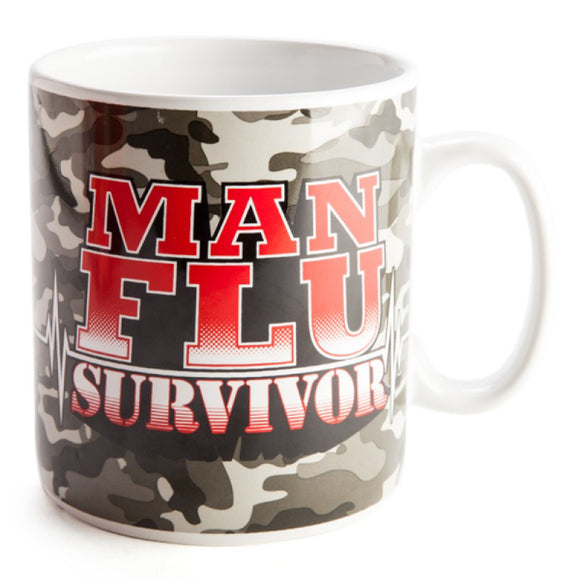 Man Flu Survivor Giant Mug