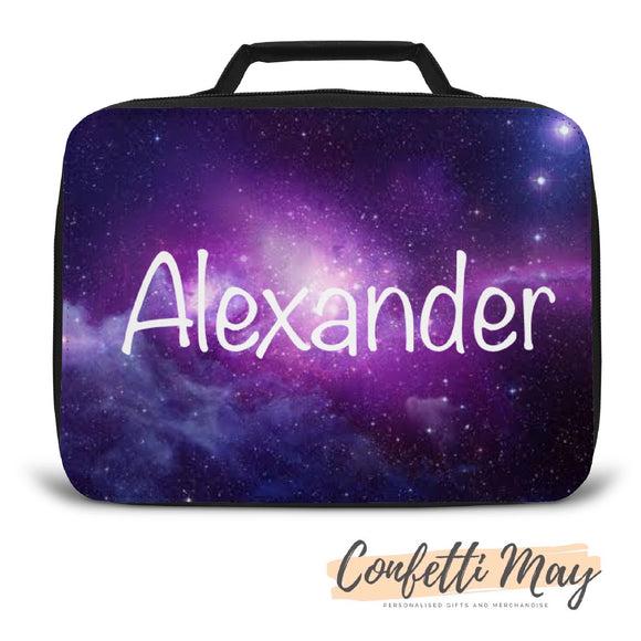 Personalised Lunch Box - Galaxy