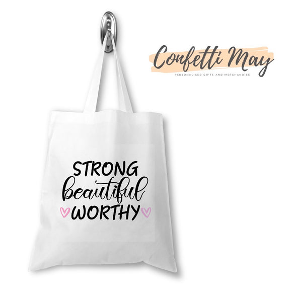 Strong Library/Tote Bag