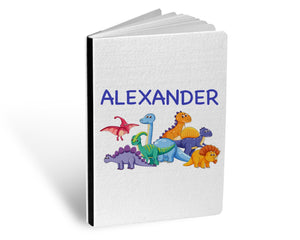 Personalised Sketch Book - Dinosaur