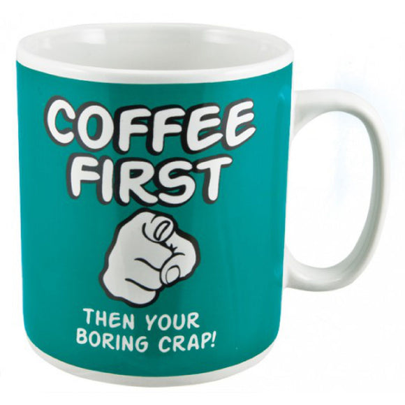 Coffee First Giant Mug