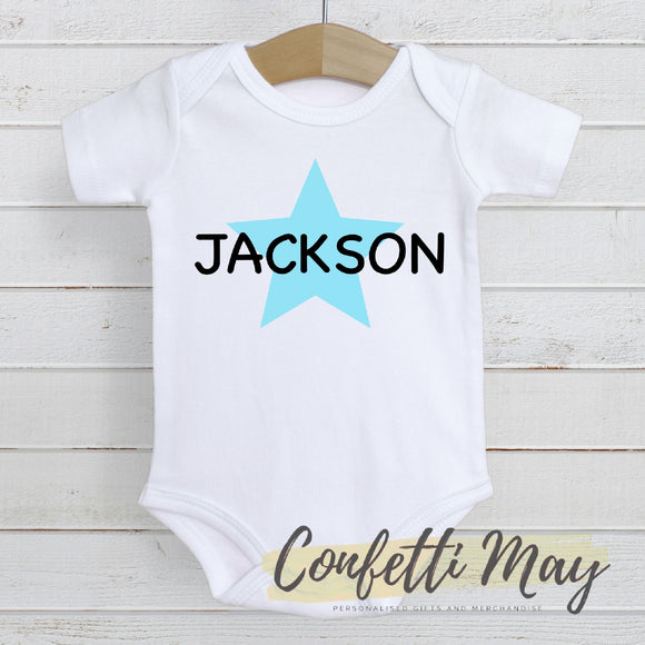 Little Star Onesie