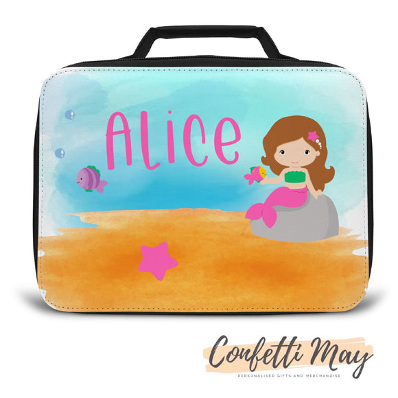 Personalised Lunch Box - Mermaid