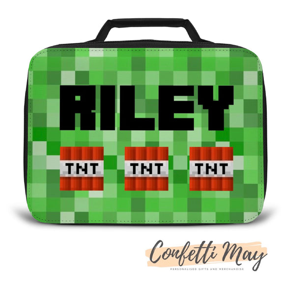 Personalised Lunch Box - Minecraft