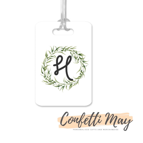 Personalised Aluminium Bag Tag - Native