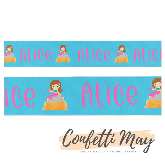 Personalised Mermaid Ribbon