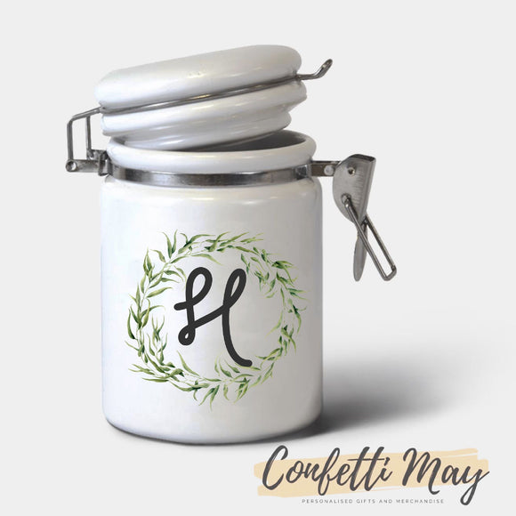 Personalised Ceramic Jar - Native