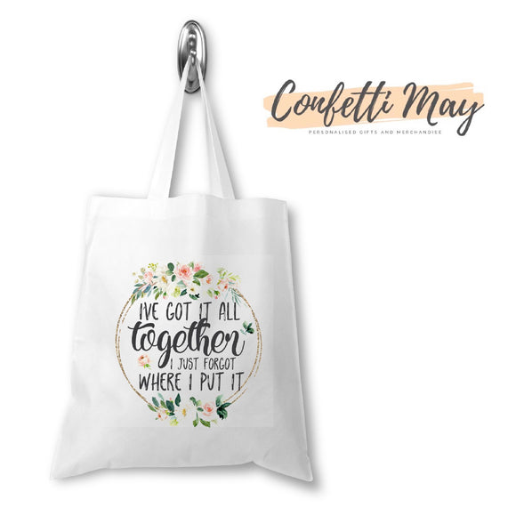 Got it all Together Library/Tote Bag