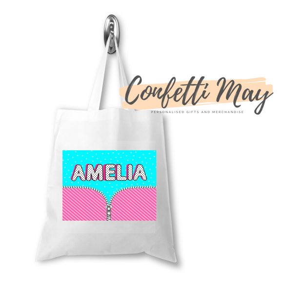 Personalised Library Bag Tote - LOL Doll