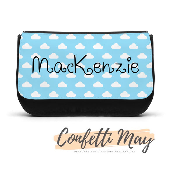 Personalised Pencil case - Clouds