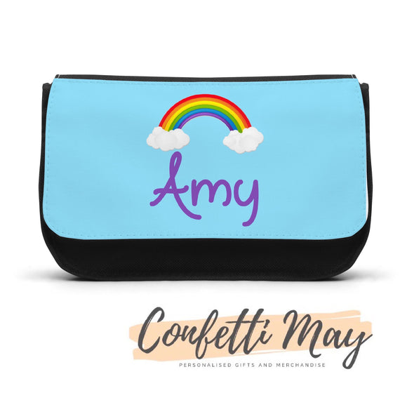 Personalised Pencil case - Rainbow