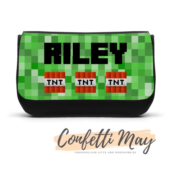 Personalised Pencil case - Minecraft