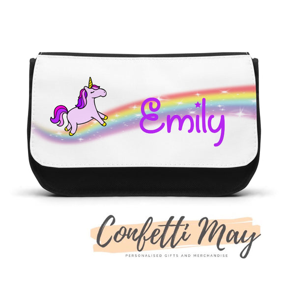Personalised Pencil case - Unicorn