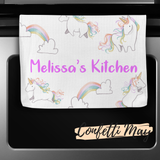 Personalised Kitchenware Gift Set - Unicorn