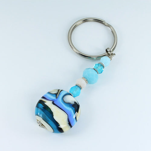 Zimbali Landscape Keyring Accessories - Dragon Fire Beads Online