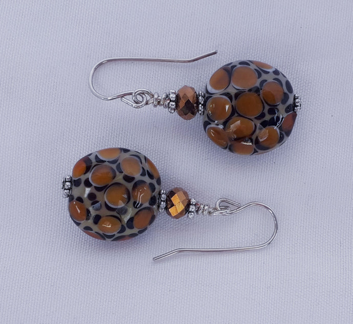 Leopard Safari Earrings