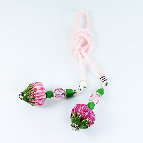 Protea Flower Bookmark Accessories - Dragon Fire Beads Online