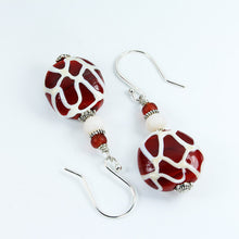 Giraffe Safari Earrings Earrings - Dragon Fire Beads Online