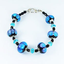 Rainbow Dots Bracelet Bracelets - Dragon Fire Beads Online