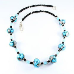 Seaviolet Turquoise Sea Necklace Necklaces - Dragon Fire Beads Online
