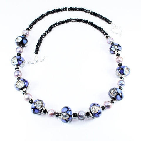 Seaviolet Purple Sea Necklace Necklaces - Dragon Fire Beads Online