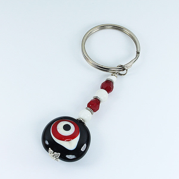 Vulture's Eye  Keyring Accessories - Dragon Fire Beads Online