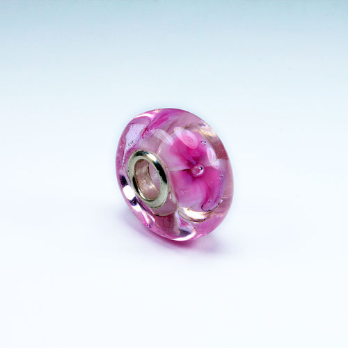 Pink Daisies Annabella Bead Annabella Beads - Dragon Fire Beads Online