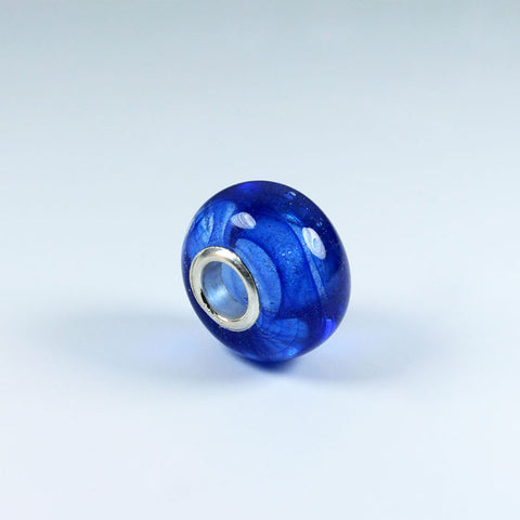 Ocean Plain Blue Annabella Bead Annabella Beads - Dragon Fire Beads Online