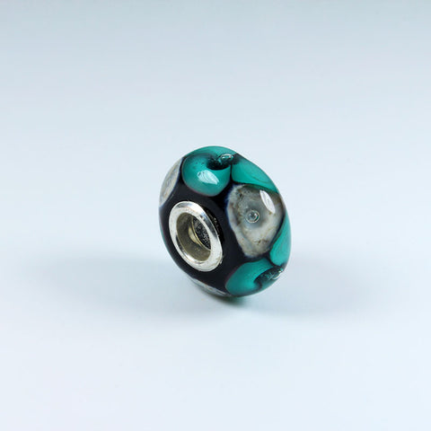 Sea Violet Turquoise Annabella Bead Annabella Beads - Dragon Fire Beads Online