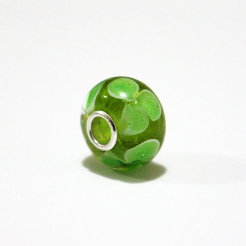 Green Daisy Annabella Bead Annabella Beads - Dragon Fire Beads Online