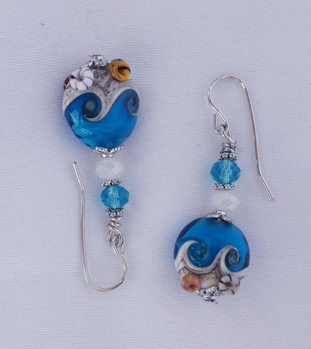 Seaside Turquoise Earrings