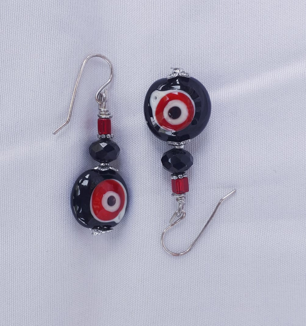 Vulture Eyes Earrings