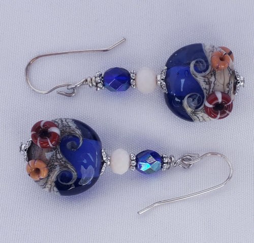 Seaside Blue Earrings