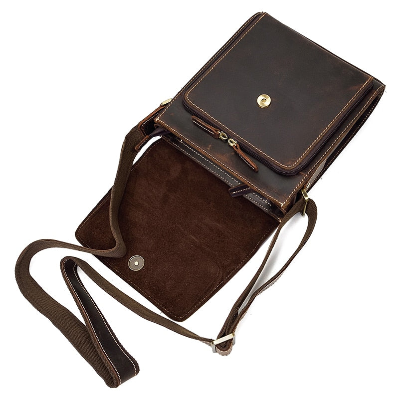 Bandouliere Leather  Messenger Bag