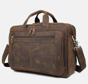 Metana Leather Briefcase