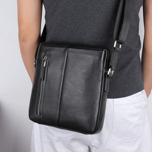 Lapoe leather crossbody bag